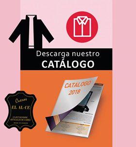 Cueros EL ALCE. Descarge nuestro catálogo 2018.