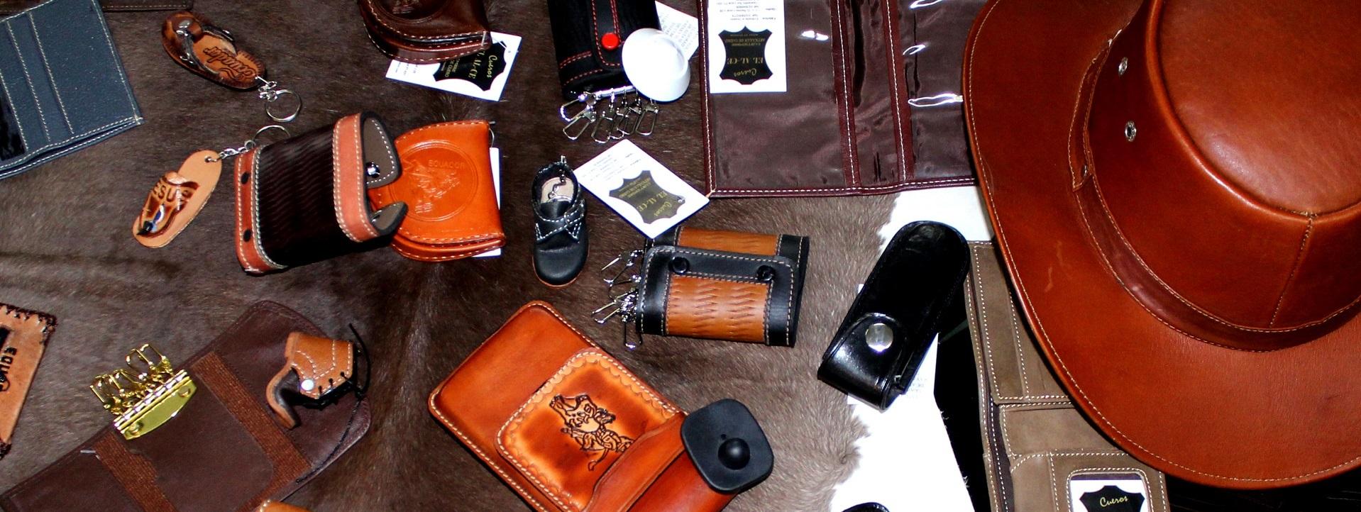 Cueros EL AL-CE. Contamos con variedad de productos de cuero.