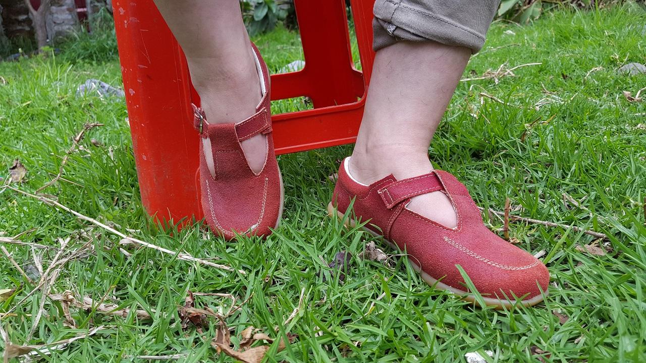 Zapato de correa para niña